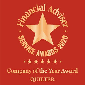 Financial Adviser Service Awards 2020 Company of the year, Quilter